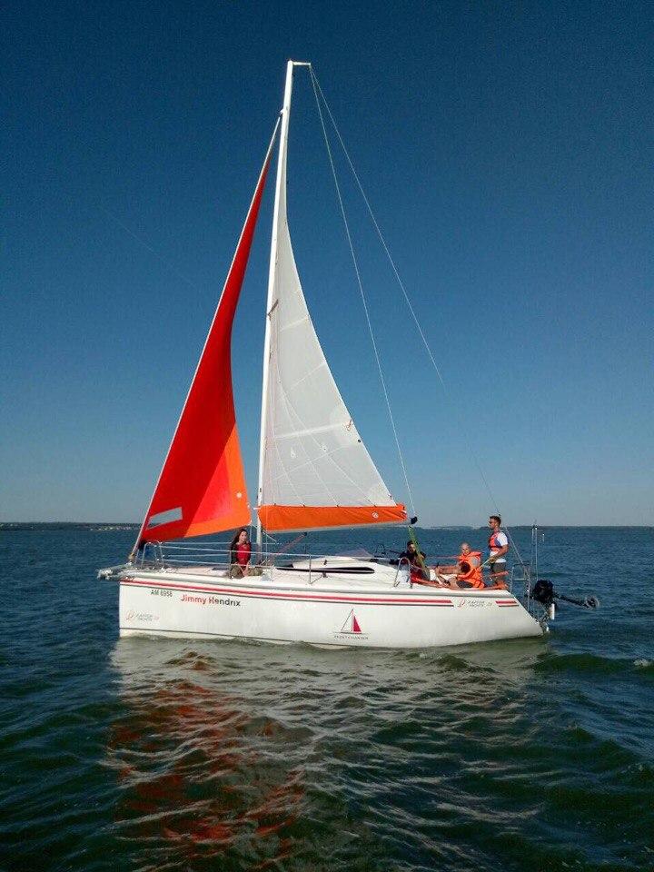 Яхта раптор 26