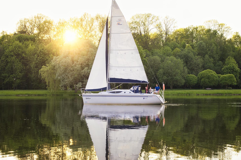 Яхта Бинго общий вид