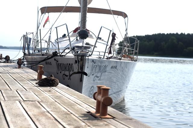 Прокат яхты Кобра 33