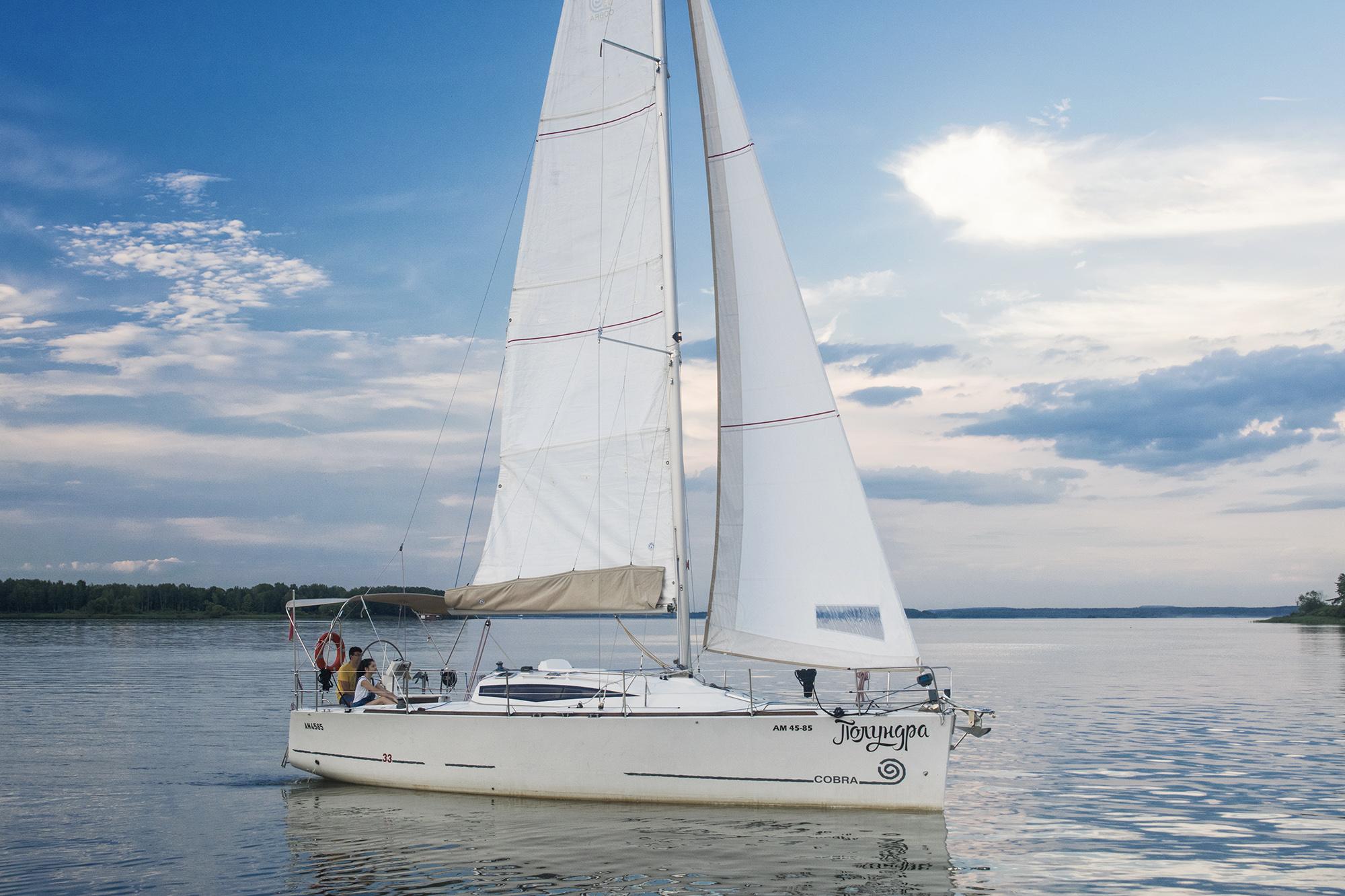 billyby парусная яхта Полундра на воде